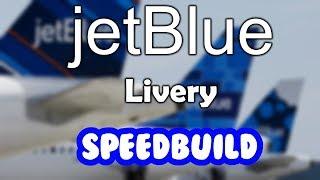 ROBLOX jetBlue A320-200 Livery Construcción de velocidad