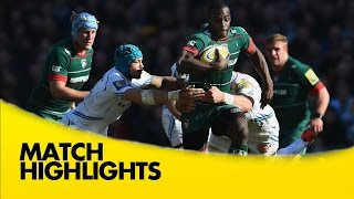 Leicester Tigers v Exeter Chiefs - Aviva Premiership Rugby 2014/15