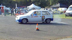 The Rally Show 2009 Richard Egger Insurance / BTRDA Autotest Display Team