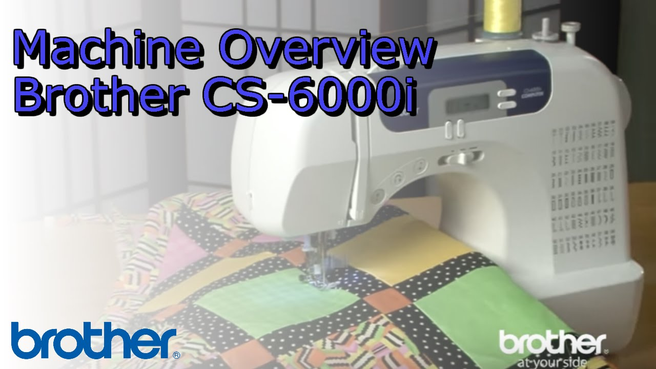 Brother CS6000I 60-Stitch Computerized Sewing Machine Review