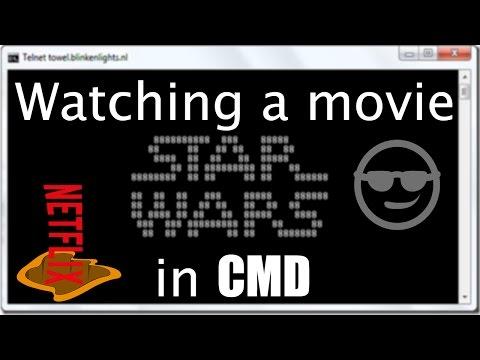 Watching A Movie In CMD?! How To [Telnet]