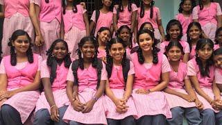 Actress Priya Anand as School Girl in