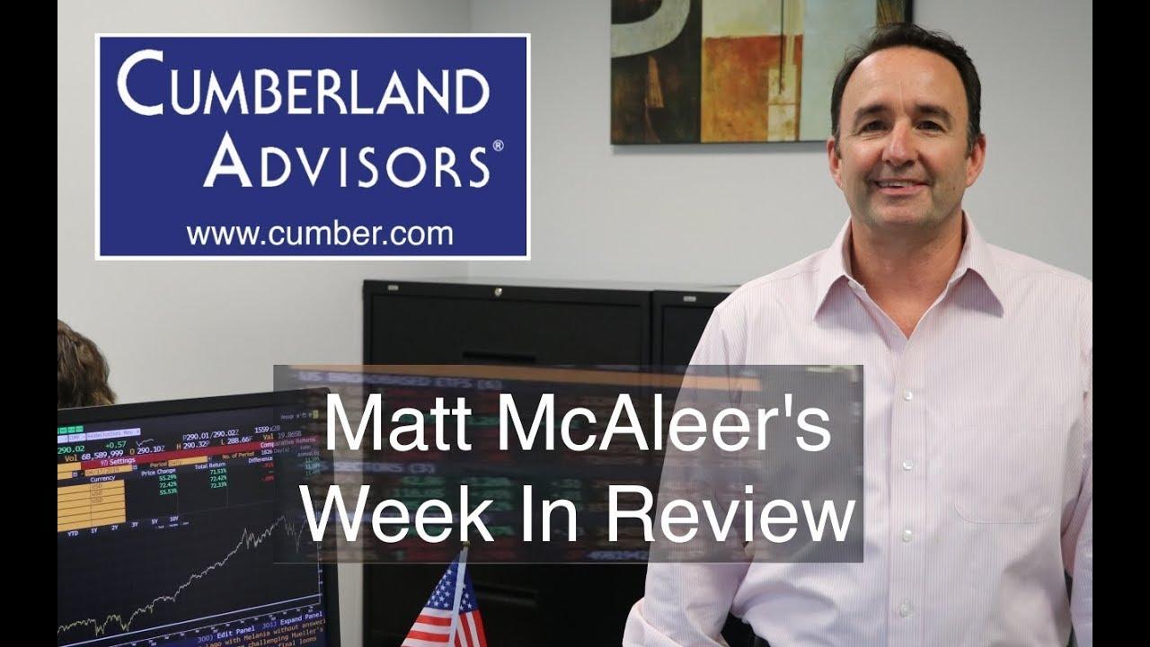 Tag: Matt McAleer - Cumberland Advisors