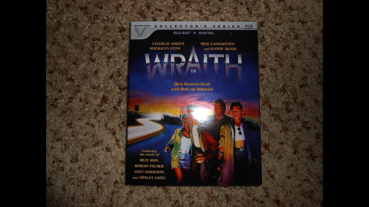Download The Wraith Blu Ray Unboxing