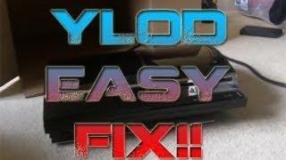 PS3 YLOD Easy Fix!