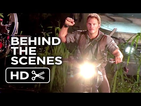 jurassic-world-behind-the-scenes---motorcycle-(2015)---chris-pratt-movie-hd
