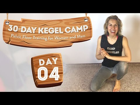 Glutes, Pelvic Floor, And More 🏕️ At-Home Kegel Camp, Day 4