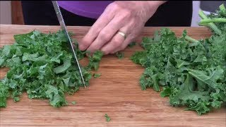 How To Chop And Cook Kale