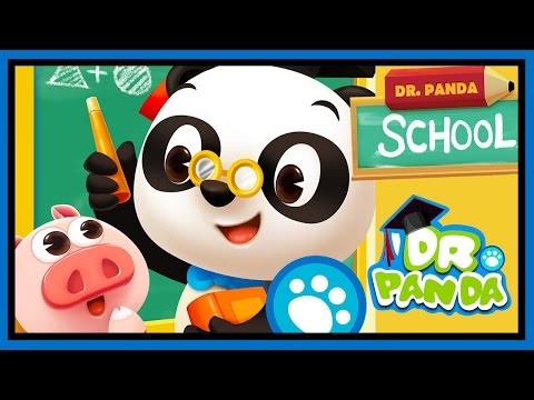 Dr Panda School App - Fun Educational Games For Preschoolers