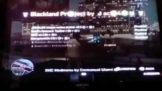 GTA IV Blackland Project mod menu
