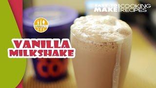 Vanilla Milkshake   Cold Drinks Recipe   Nepali Style