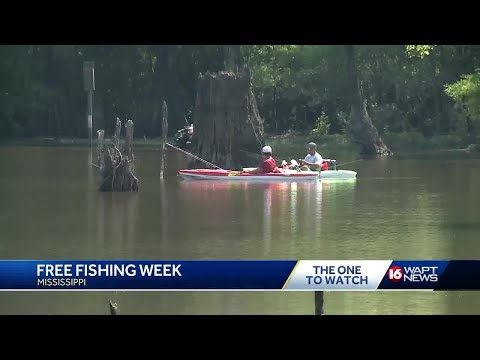 Park Managers Unaware Of Free Fishing Days In Mississippi