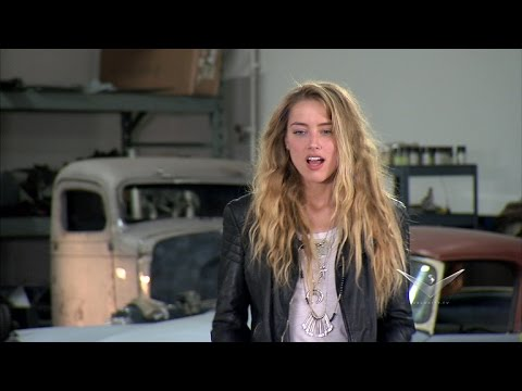 Amber Heard Tears Up Over Her Awesome New Car on 'Overhaulin''