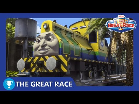 The Great Race: Raul of Brazil | The Great Race | Thomas & Friends