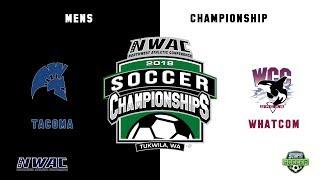 NWAC Mens Championship Soccer Tacoma - Whatcom