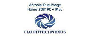 acronis True Image Home 2017 PCMac - Video#18