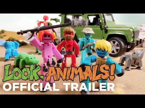 Look, Animals! 🦁 | Official Trailer