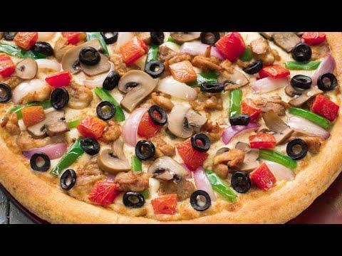 صورة  طريقة عمل البيتزا طريقة عمل بيتزا هشة وخفيفة طريقة عمل البيتزا من يوتيوب