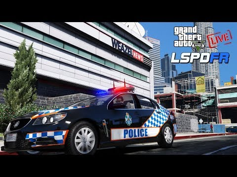LSPDFR LIVE! | QLD General Duties City Patrol | Agency Callouts 3.5 (Early Acess Version)