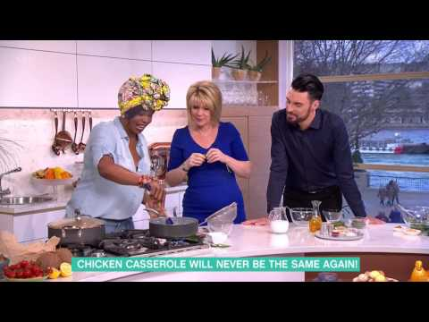 Fafa Gilbert's Peanut and Thyme Chicken With Coconut Rice | This Morning