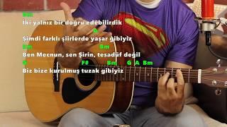 Onur Can Özcan YARAMIZDA KALSIN Gitar Dersi - Nasıl Çalınır? Orjinal Akor