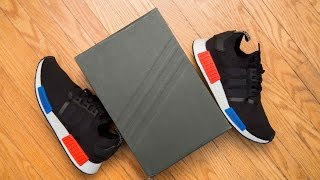 Adidas 2017 OG NMD R1 PK 'Primeknit' re-release Review and On Feet
