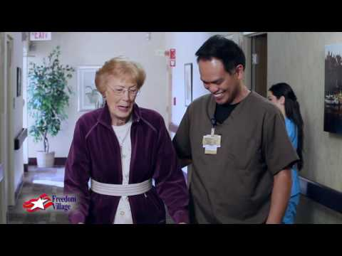 Life at Freedom Village 30 Seconds of Skilled Nursing