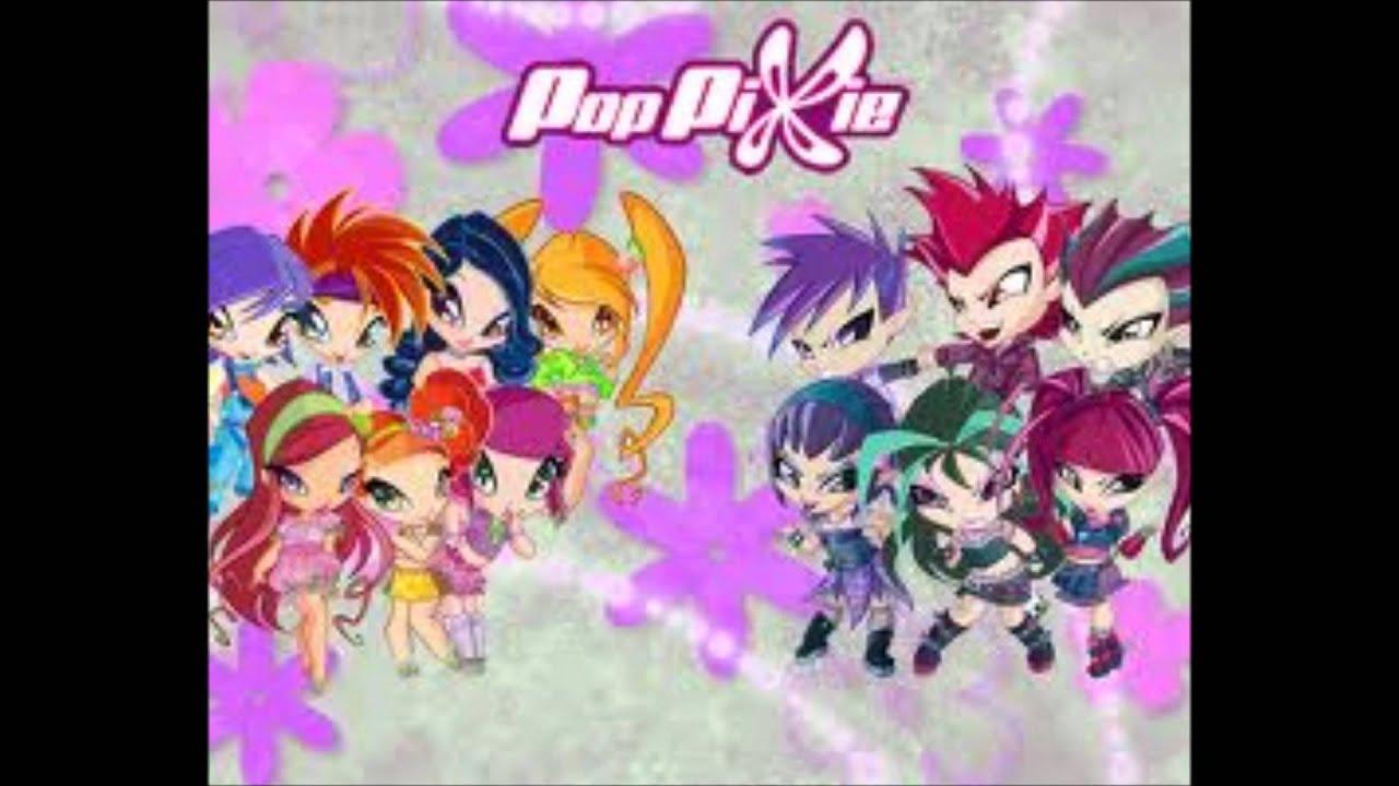Winx Club Kleurplaten Seizoen 4.Pop Pixie Y Winx Club Youtube
