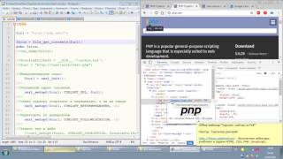 Парсинг сайтов на PHP, CURL, phpQuery  Часть 2  Трепачёв Дмитрий