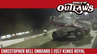 World of Outlaws Craftsman Sprint Cars Christopher Bell Eldora Speedway July 15, 2017 | ONBOARD