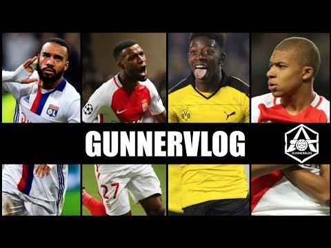 "Gunnervlog: Pires - ""My list is Lacazette, Mbappe, Dembele and Lemar"""