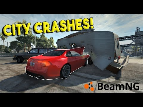 CRAZY CITY CRASHES & POLICE CHASES!