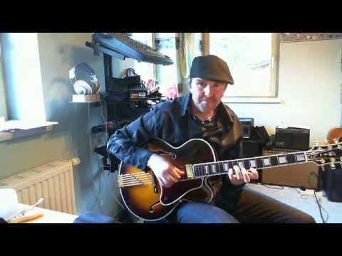 Modern 2 5 1 chord progression lesson, Bill Frisell, Mick Goodrick style