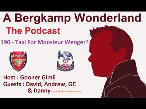 A Bergkamp Wonderland : 190 - Taxi For Monsieur Wenger
