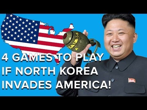 4 Games to play if North Korea Invades America - Eurogamer
