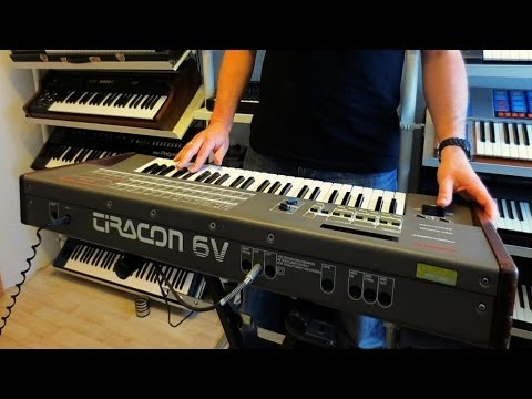 "TIRACON 6V Analog Synthesizer ""Leipzig`87"""