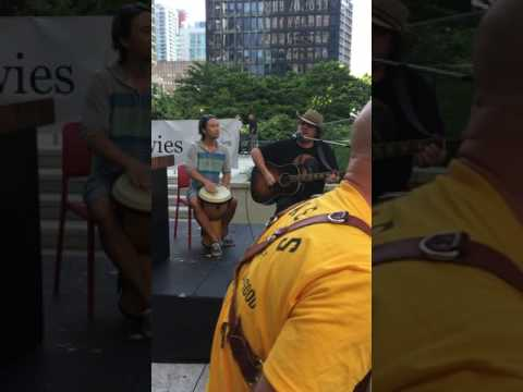 """ET Music Therapy- Client Performance (Bikers For Autism """"Shuck it Forward"""" 2017 Vancouver)"""