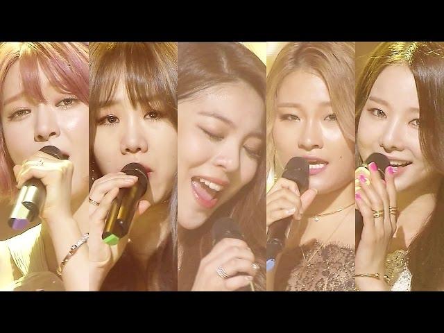 《Special Stage》 APHRODITE (아프로디테) - Chandelier @인기가요 Inkigayo 20160814
