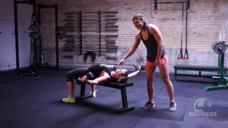 The Bigness Project Demo: Dumbbell Chest Fly