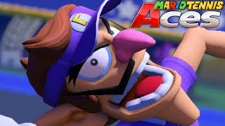The Hideous Face of Defeat [MARIO TENNIS ACES] [TOURNAMENT STYLE]