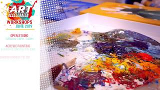 Art Accelerated: Workshop Promotion