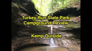 Turkey Run State Pąrk Campground Review | Camping in Indiana | Marshall Indiana