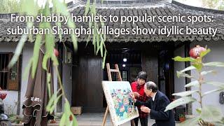 """小村变""""网红"""":上海周边的村子真·田园牧歌啊"""