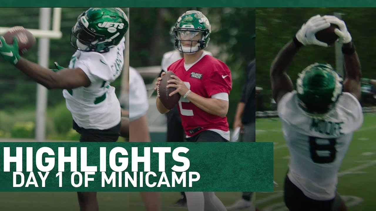 HIGHLIGHTS: Day 1 Of Minicamp (6/15) | The New York Jets | NFL