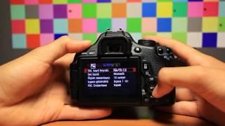 Canon 600D'de Nasıl Video Çekilir?