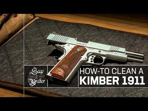 Here's How to Clean a Kimber 1911 Custom II