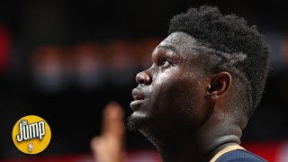 Zion Williamson will spend his whole career trying to shrink his body - Richard Jefferson | The Jump