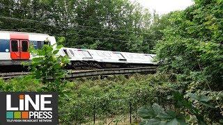 Accident du RER B / Saint-Rémy-lès-Chevreuse (78) - France 12 juin 2018