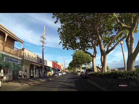 Lahaina Maui Hawaii Front Street  South Bound [GoPro Black Edition Car Mount]