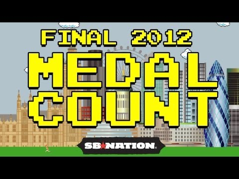 Olympics Medal Count: We Did It, Baby.
